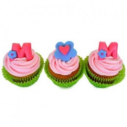 Yummy Surprise For Mom Cupcakes-set of 6
