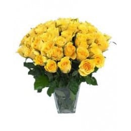 Yellow Rose Arrangement