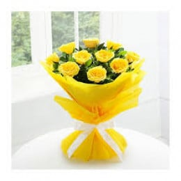 Yellow Rose Bunch