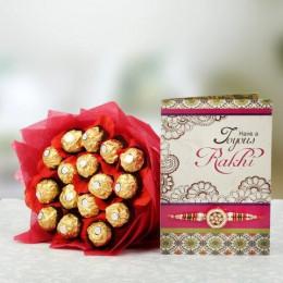 Ferrero Bouquet For Bhai