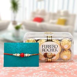 Ferrero N Rakhi Combo