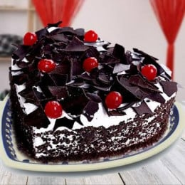 Hearty Blackforest Cake-500 Gms