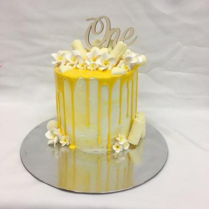 Jasmine Drip Cake-1 Kg