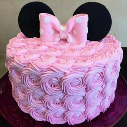 Minnie Rosette Cake-1 Kg