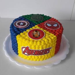Avengers Photo Cake-1 Kg