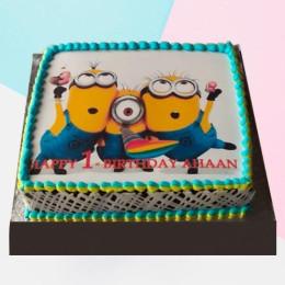 Yo Minion Cake-500 Gms