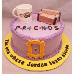 Friends Cake-1.5 Kg