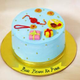 Shubh Rakhi Cake-500 Gms