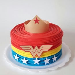 Wonder Woman Cake-1 Kg