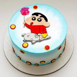 Shinchan n shiro Cake-500 Gms