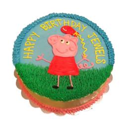Peppa n Balloon Cake-1 Kg