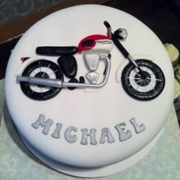 Bike Love Cake-1 Kg
