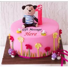 Cheeky Monkey Cake-1.5 Kg