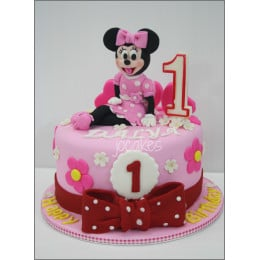 Joyful Minnie Cake-1.5 Kg