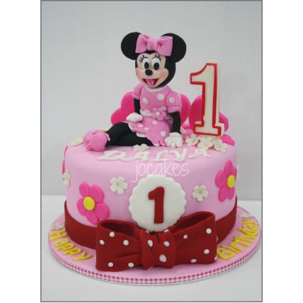 Joyful Minnie Cake-1.5 Kg