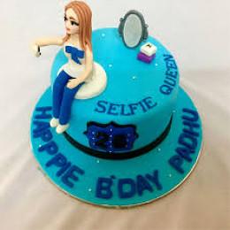 Selfie Queen Cake-1.5 Kg