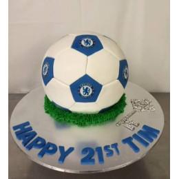 Soccer Love Cake-1.5 Kg