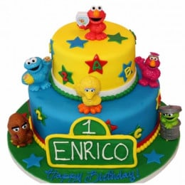 Telly Tubbies Cake-3 Kg