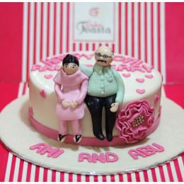 The Grateful Love Cake-1.5 Kg