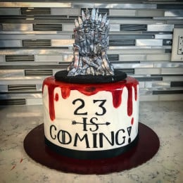 Throne Cast Cake-1.5 Kg