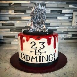 Throne Cast Cake-2 Kg