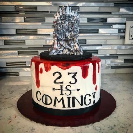 Throne Cast Cake-1.5 Kg