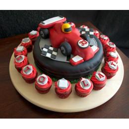 F1 Track Cake-1.5 Kg