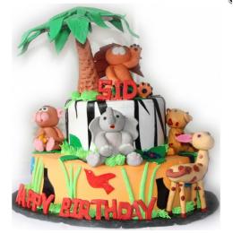 Junglee Safari Cake-4 Kg