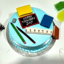Teacher Theme Cake-1 Kg