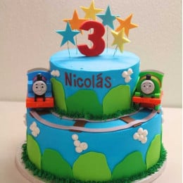Kids Train Cake-3 Kg