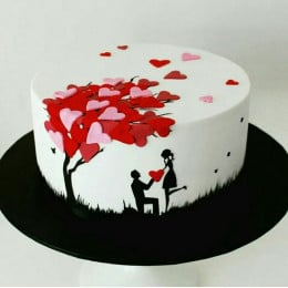 My Love For You Cake-1.5 Kg
