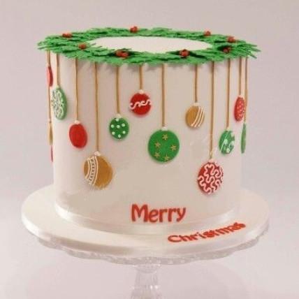 Merry X-Mas Cake-1 Kg