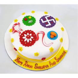 Paavan Rakhi Cake-1 Kg