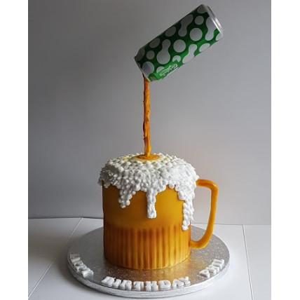 Beer Gravity Cake-1.5 Kg
