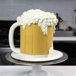 Beer Mug Cake-1.5 Kg