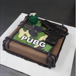 Pubg Lover Cake-1.5 Kg