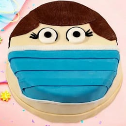 Covid Mask Cake-500 Gms