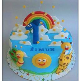 Baby Tv Cake-2 Kg