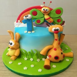 Cute Baby Tv Cake-2 Kg