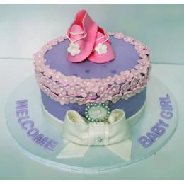 New Baby Girl Cake-1 Kg