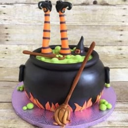 Halloween Witch Cake-2 Kg
