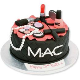 Dark Mac Makeup cake-1.5 Kg