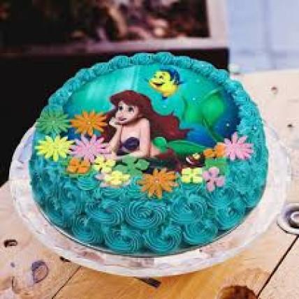 Arial Mermaid Cake-1 Kg