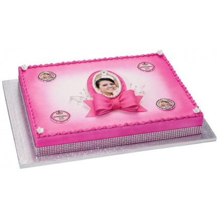 Be Jewelled Photo Cake-1 Kg