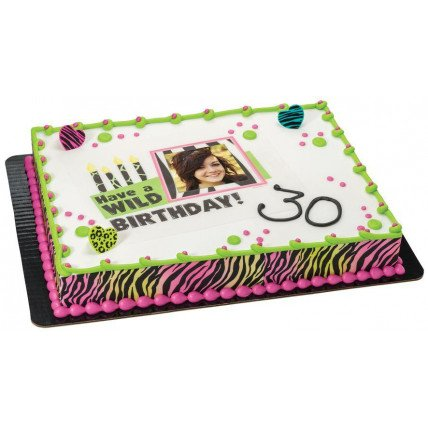 Joy 30 Photo Cake-1 Kg