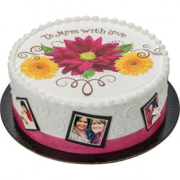 With Love Photo Cake-1.5 Kg