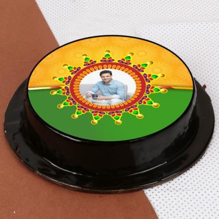 Personalize Rakhi Cake-500 Gms