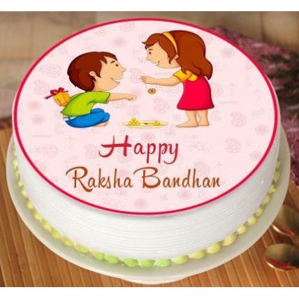 Bhai Behan Photo Cake-500 Gms