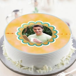 Photo Cake For Bhai-500 Gms