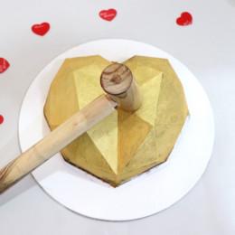 Pinata Gold Heart
